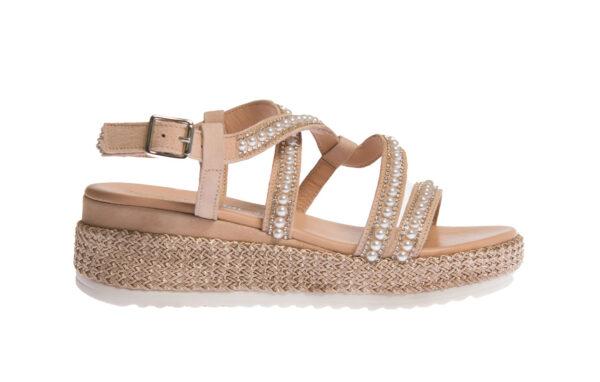 sandalo donna produzione made in italy pasquini calzature