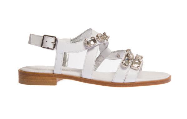 sandalo donna artigianale pasquini calzature made in italy