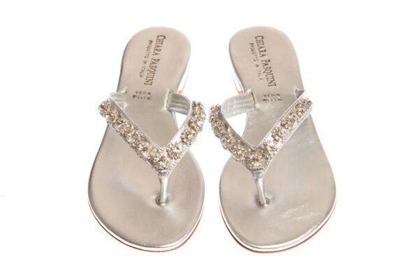 sandalo donna basso produzione artigianale pasquini calzature