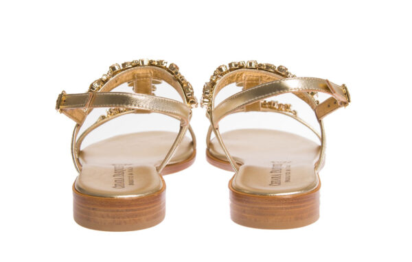 sandalo donna aperto produzione pasquini calzature made in italy