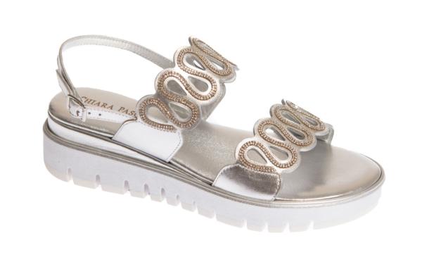 sandalo donna prodotto artigianalmente da calzature pasquini in italia