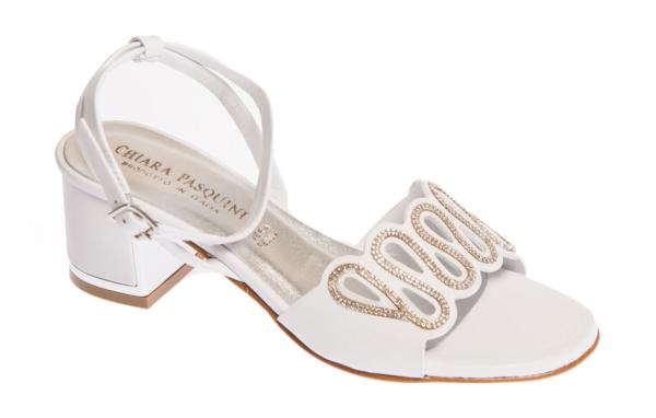 elegante sandalo donna produzione italiana pasquini calzature
