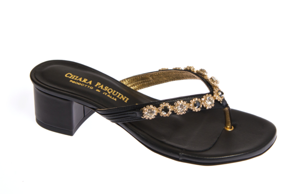 sandalo estivo da donna chiara pasquini produzione calzature italiane