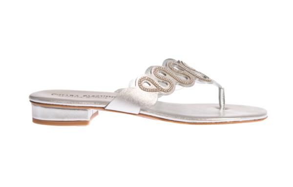 sandalo donna produzione artigianale italiana prodotto da pasquini calzature