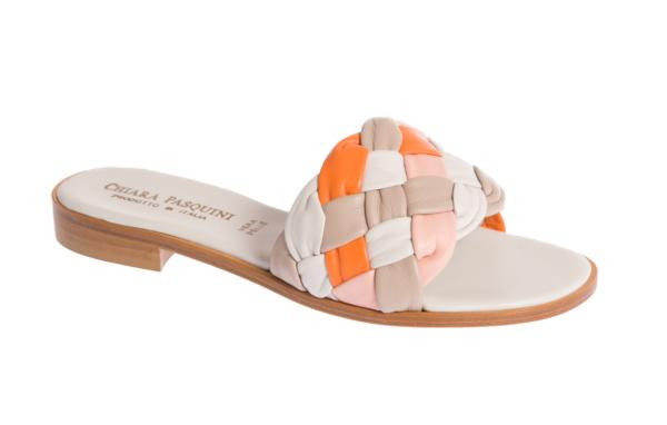 scarpa donna sandalo estivo produzione artigianale italiana di pasquini calzature