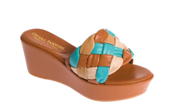sandalo estivo donna produzione artigianale italiana pasquini calzature