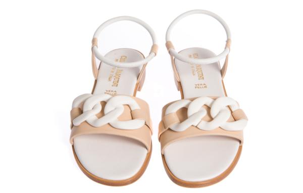 sandalo donna basso prodotto da pasquini calzature italia