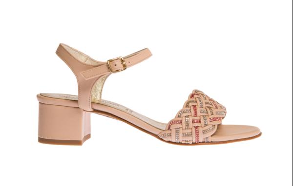 elegante sandalo estivo da donna chiara pasquini calzature italiane