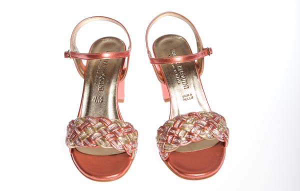 sandalo estivo donna chiara pasquini produzione italiana calzature