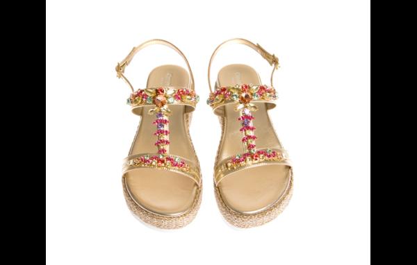 sandalo donna prodotto da pasquini calzature produttore italiano